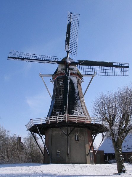 Dutch Windmill, Winter
