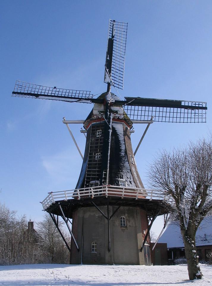 Dutch Windmill, Winter