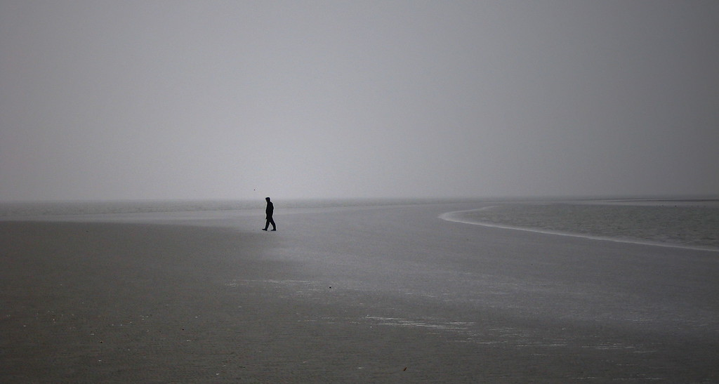 Sandbank, North Sea