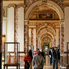 "Each wing of the Louvre had a distinctive style.<br><br><span class=""subcaption"">After the mountainous indoor shots from this trip, made possible by the image stabilized lens, I don't think I can ever go without such technology.</span>"