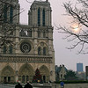 "Outside one of the world's most famous bits of architecture, the Cathedrale Notre-Dame. Amazing inside and out.<br><br><span class=""subcaption"">Adjusted levels and saturation substantially for many pictures from this trip. It was entirely cold, gray, and overcast most of our time in Paris.</span>"