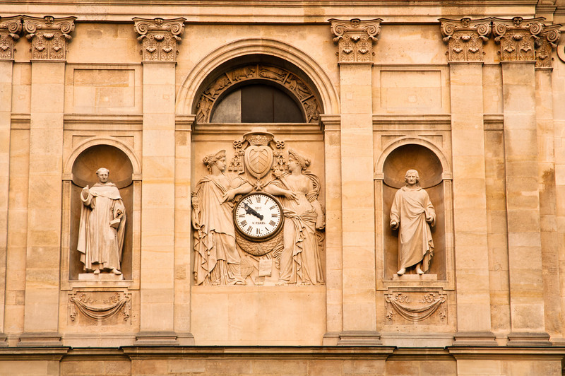 Sorbonne facade detail