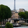 Seine River with the Effile Tower in the background