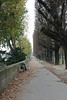 Walking path along the Seine