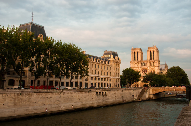 Cathedral of Norte Dame and the Seine River