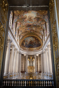 """Versailles Palace - the motto must have been """"if they built it, let's gilt it""""."""