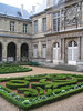 Courtyard in Musee Carnevelet