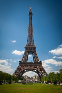 The Iconic Eiffel Tower.  Yet another tick off my Bucket List....