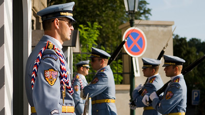 Changing of the 'Guard', Prague Castle, Praha