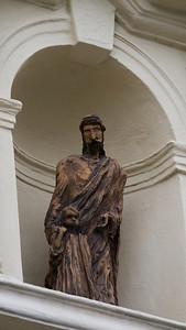 Wooden Jesus, Hradcany, Praha