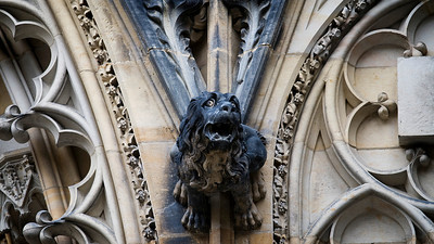 Gargoyle, St. Vitus' Cathedral, Prague Castle, Praha
