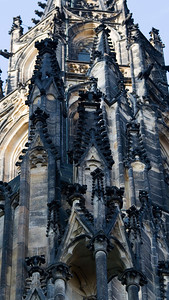 Gothic Towers, St Vitus' Cathedral, Praha