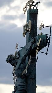 Crucifixion, Charles Bridge, Praha