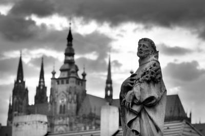 St. Philip Benicius, Charles Bridge and Prague Castle, Praha