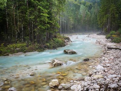 Triglavska Bistrica in the Julian Alps, Triglav National Park, Slovenia