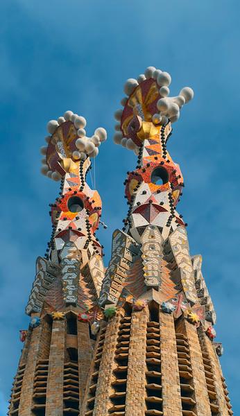 Sagrada Familia - tower details