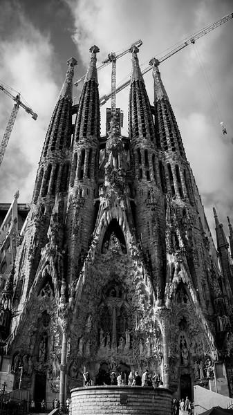 Sagrada Familia - rear