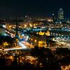 Barcelona from Miramar hill