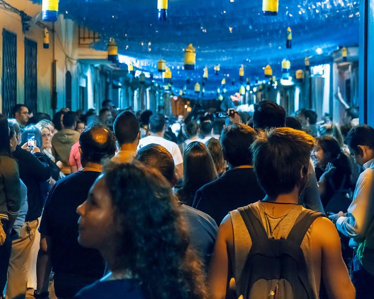 La Merce crowds