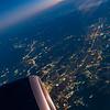 from BCN in flight