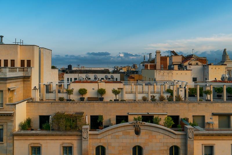top of Barcelona