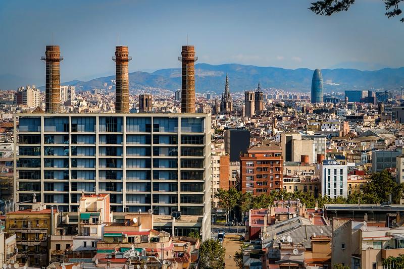 view from Miramar tram