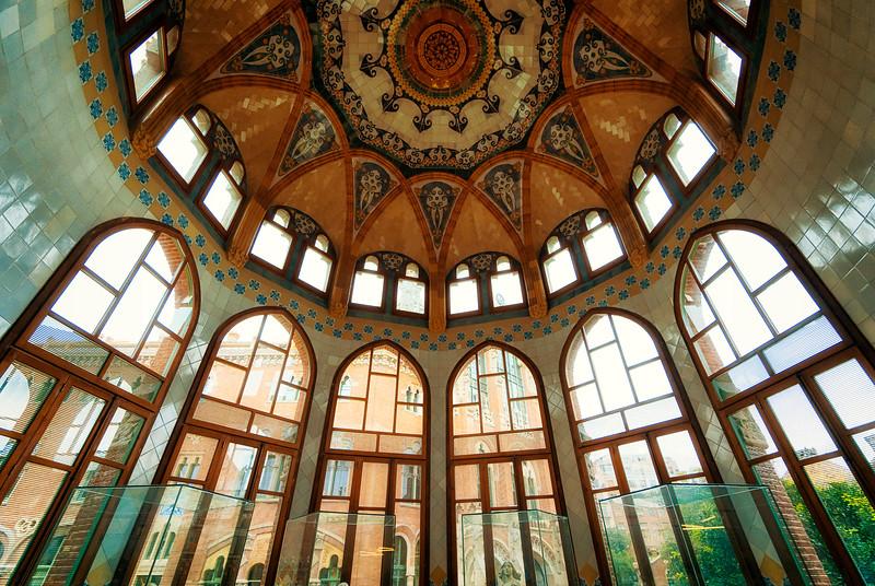 Recinte Modernista inner buildings