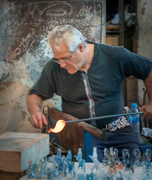 glassworks at Poble Espanyol