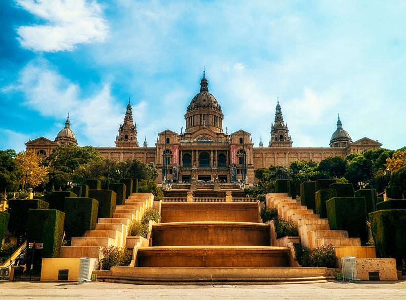 Museu Nacional and Magic Fountain