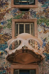 Balcony, Casa Batllo