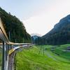 en route from Italy to Interlaken, Switzerland