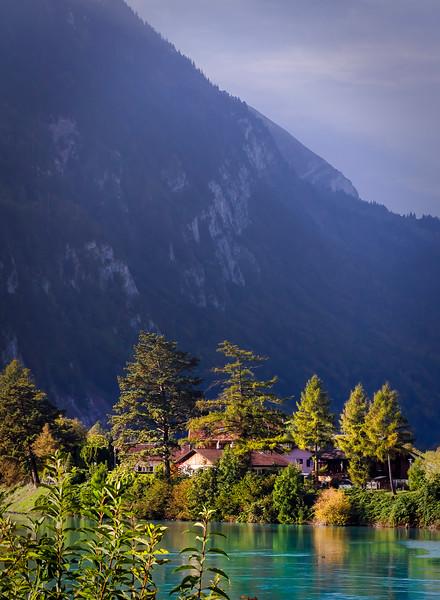 beautiful Interlaken, Switzerland
