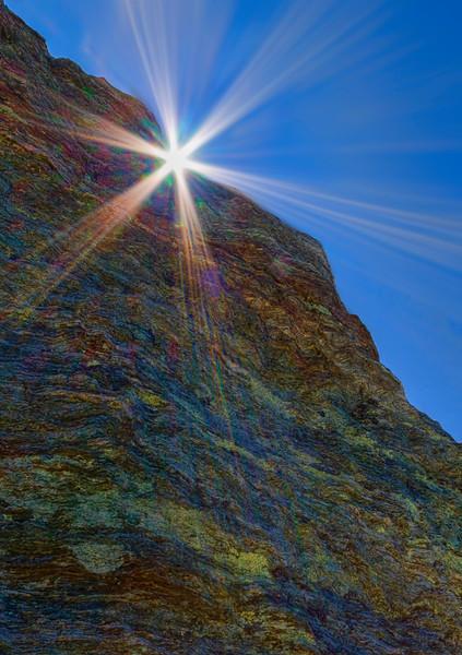 geology atop Jungfrau