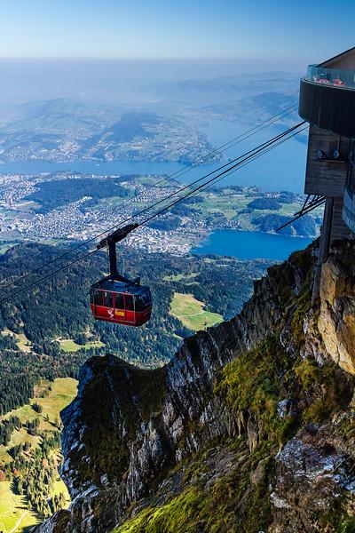 gondola on approach