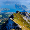 view from Mt. Pilatus peak