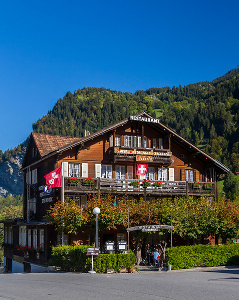 restaurant in Lauterbrunnen