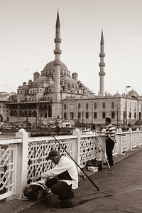 The New Mosque from the bridge
