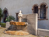 Fountain in the courtyard of the Castelvecchio Museum (Italian: Museo Civico di Castelvecchio), a museum in Verona, northern Italy, located in the eponymous medieval castle.