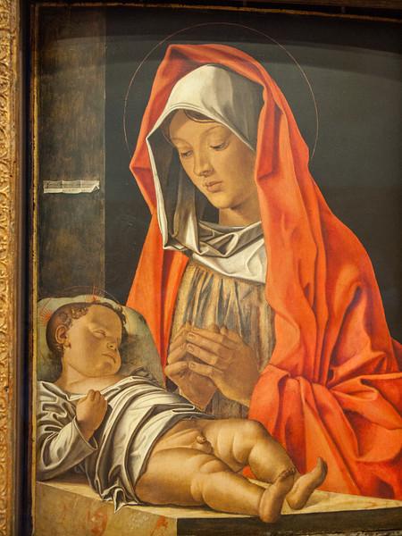 "Bonsignori, Francesco (1455-1519) - Virgin with Child - Renaissance (Early Italian, ""Quattrocento"") - Museo di Castelvecchio - Verona, Italy"
