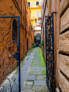 Gated Alley - Rome