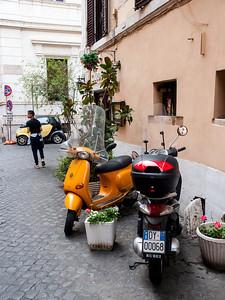 Vespa al Roma