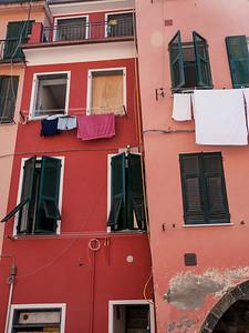 Manarola di Cinque Terre Laundry Day