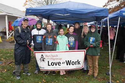 The Church of the Pilgrim also love to run SSCAC Pumpkin Run to raise funds to help SSCAC fight hunger and food insecurity among disadvantaged children, families and seniors throughout the South Shore!  Wicked Local Photo/Denise Maccaferri