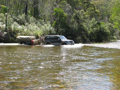 Murray River Crossing near Tom Groggin