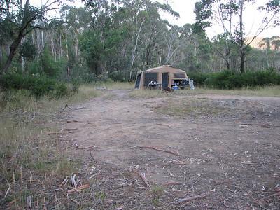 Ravine - Camping area