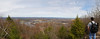 Panoramic view from the top