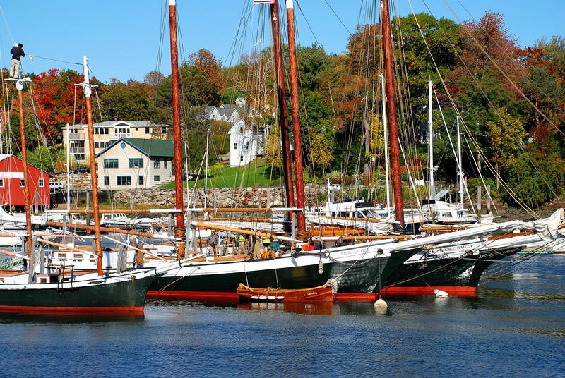 Harbor in Camden, Maine