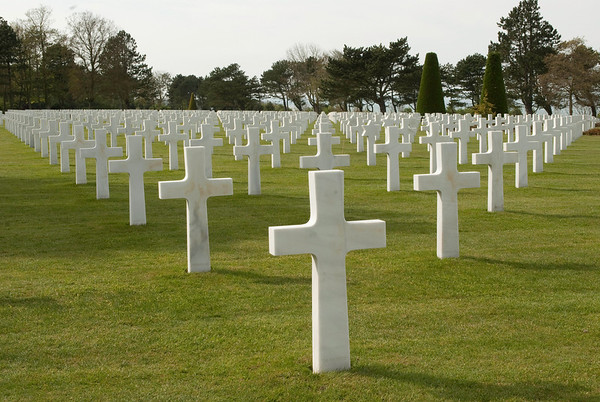 American Cemetery, Normandy, France
