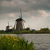 Windmills, Kinderdijk, Holland
