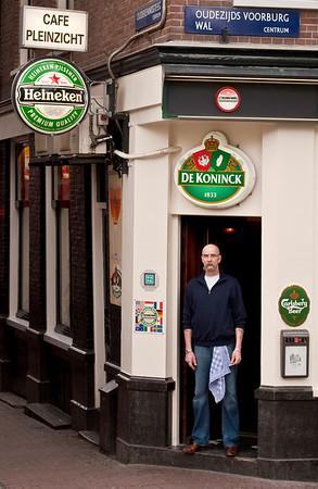 Bartender in Amsterdam
